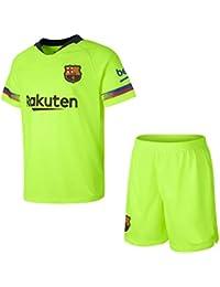Conjunto Camiseta y pantalón 2ª Equipación 2018-2019 FC. Barcelona - Réplica Oficial Licenciado