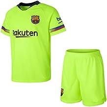 Conjunto Camiseta y pantalón 2ª Equipación 2018-2019 FC. Barcelona -  Réplica Oficial Licenciado 0922cc3cf1b