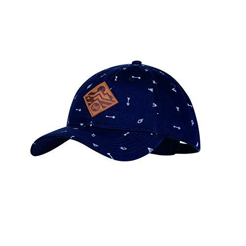 Buff Jungen Patterned Baseball Cap Arrows Denim One Size