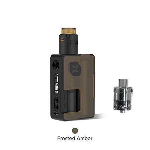 Vandy Vape Pulse X Kit Sonderausgabe, E Zigarette Squonk Kit Kein Nikotin und Tabak (Bereifter Bernstein) -