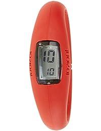 IoIon  E-RED07-I - Reloj de cuarzo unisex, con correa de silicona, color rojo