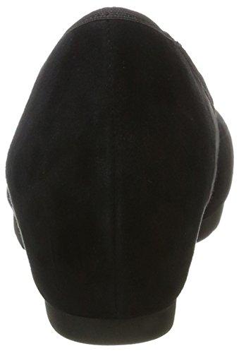 Jana 22306, Escarpins Femme Noir (Black Suede)
