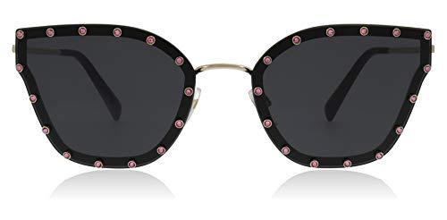 Valentino Sonnenbrillen VA 2028 Pale Gold/Grey Damenbrillen