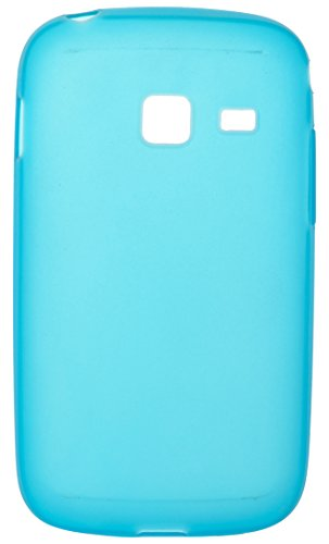 iCandy™ Colourful Thin Matte Finish Soft TPU Back Cover For Samsung Galaxy Y Duos S6102 - Blue  available at amazon for Rs.190
