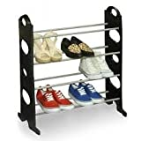 Snowpearl 04 Layer Stackable Shoe Rack