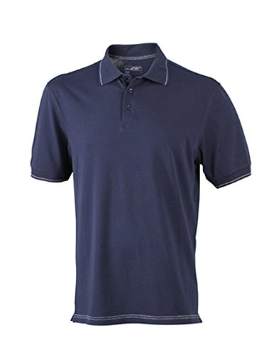Men's Elastic Polo im digatex-package Navy