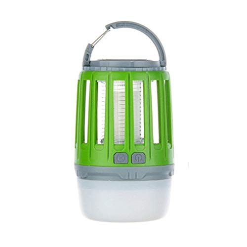 WYL Camping LanternLED Moskito Lampe Portable Outdoor Zelt Licht Taschenlampe Wandern Multifunktions Outdoor Wasserdicht Silent Kronleuchter,Green -