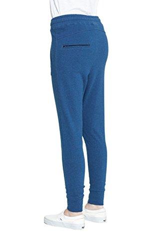 One piece Pant Dodge, Pantalon de Sport Femme Bleu - Blau (Stain Blue Mel)
