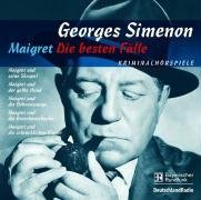 Maigret - Die besten Fälle. 5 CDs: Maigret und der gelbe Hund / Maigret und die Bohnenstange / Maigret und die Groschenschenke / Maigret und seine Skrupel / Maigret und die schrecklichen Kinder