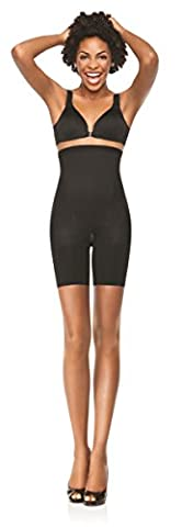 Spanx Womens In-Power High Waisted Mid Thigh Shorts with Tummy Control & no VPL