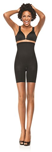 Spanx Womens In-Power High Waisted Mid Thigh Shorts with Tummy Control & no VPL (Spanx-control Top Strumpfhose)