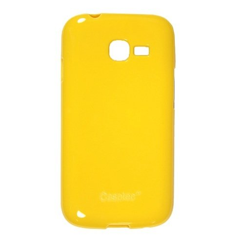 Casotec Soft TPU Back Case Cover for Samsung Galaxy Star Pro S7262 - Yellow  available at amazon for Rs.229