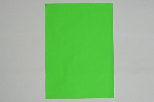 WKS Leuchtpapier NEON grün DIN A1, 90g/qm 50 Bogen tagesleuchtfarben einseitig