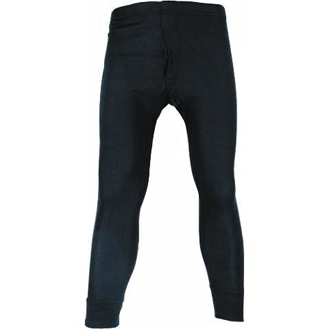 Highlander - Calzamaglia termica primo strato, uomo, Blu (Blu navy), x-large