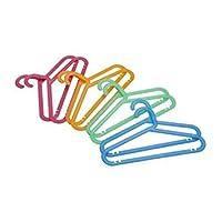 IKEA BAGIS - Children-s coat-hanger, assorted colours / 8 pack
