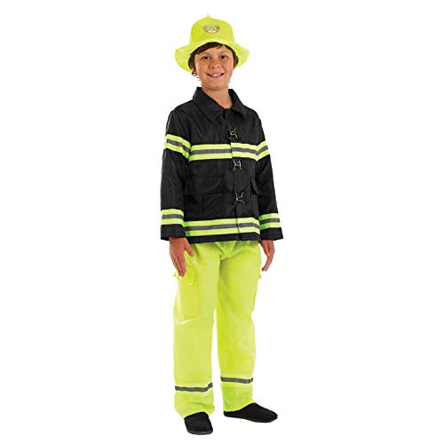 Kostüm, Unisex Children, Fire Fighter, xl ()