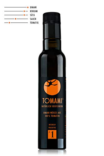 TOMAMI #1 (Umami) – 240 ml | Würze | INTENSIV-FRUCHTIG | umami, vegan, glutenfrei, laktosefrei, sojafrei