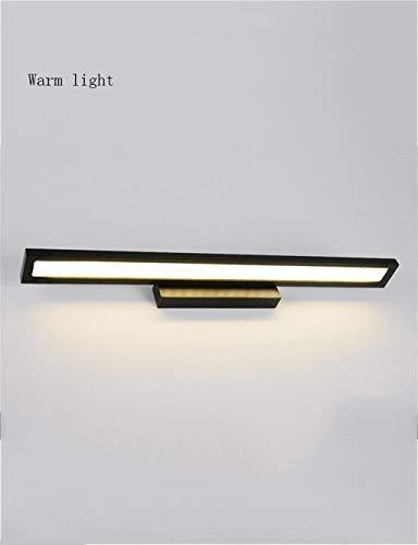 MJY Mode-LED-Lampen Spiegelbad - Wasserdichte Kreativität zum Test von Frontleuchten Spiegel Badezimmerspiegel Frontbeleuchtung - Spiegel der Scheinwerfer,Warmes Licht-l,