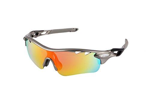 Gafas ciclismo polarizadas 5 lentes intercambiables