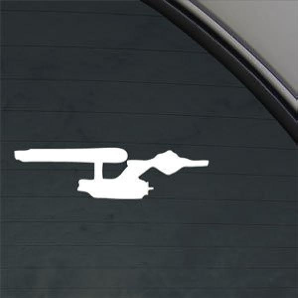 Star Trek Enterprise Fensteraufkleber Küche Haushalt