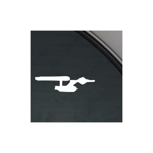 Enterprise Star Trek Decal Starship Window Sticker by Ritrama 3