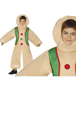 Imagen de disfraz de galleta de jengibre infantil 5 6 años
