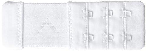 Verlängerungskabel elastisch Rücken Bh-2Haken 3,5cm breit weiß