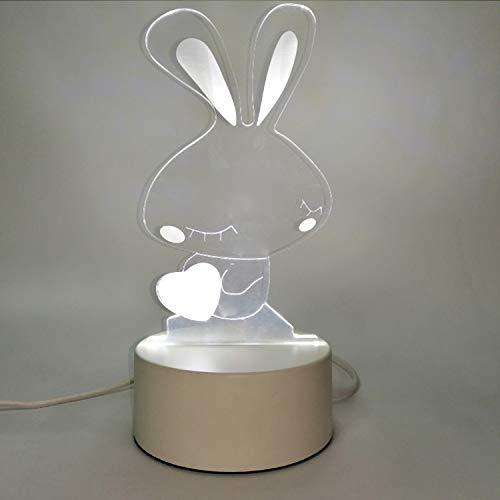 3D nachtlicht USB Plug-in Schalter Schlafzimmer Nacht led kleine tischlampe schlafsaal Dekoration...