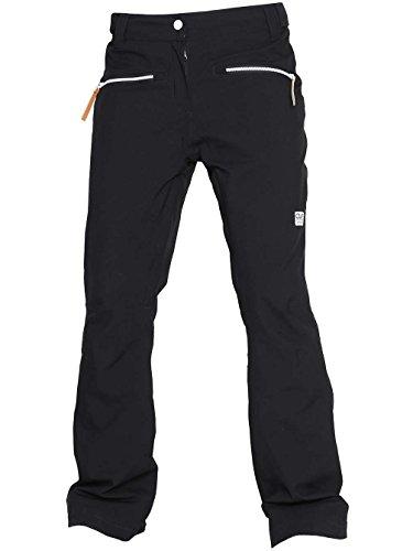 CLWR Colour Wear Damen Cork Pants Hose, Black, S