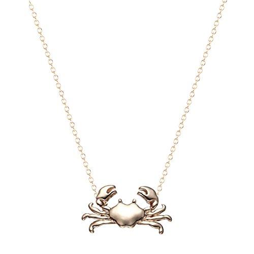 Maryland Krabben Halskette Anhänger Kette Kragen Krebs Tierkreis Niedlichen Ozean Tier Halsketten für Frauen Schmuck Mädchen Bijoux