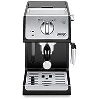 De'longhi ECP33.21 - Cafetera espresso, 1100 W, capacidad 1.1 l, café molido y monodosis, negro y plata