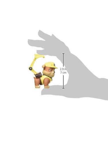 PAW PATROL- Figura Rubble 7cm (Comansi 99878) 3