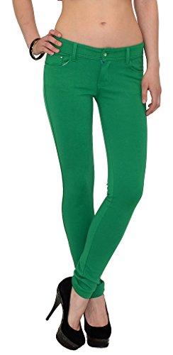 Pantalon femme pantalons femmes jeggings femmes chic et pour le travail en plusieurs couleurs T01 T01-vert-claire