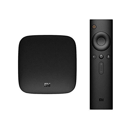 Xiaomi Mi Box 3s 4k to odtwarzacz multimedialny dla Netflix i Youtube, Google Cast, wersja Int, pilot z poleceniami głosowymi