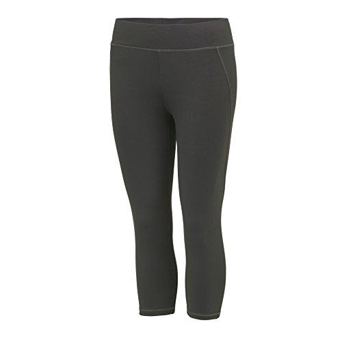 Awdis - Pantalon de sport - Femme Noir/Bleu saphir