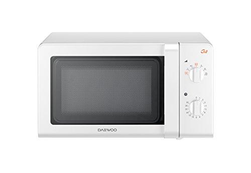 Daewoo KOG-6F27 - Microondas, 20 litros, con grill, color blanco