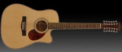 Freshman FA1DCE12 Electro Acoustic Dreadnought 12 String Guitar