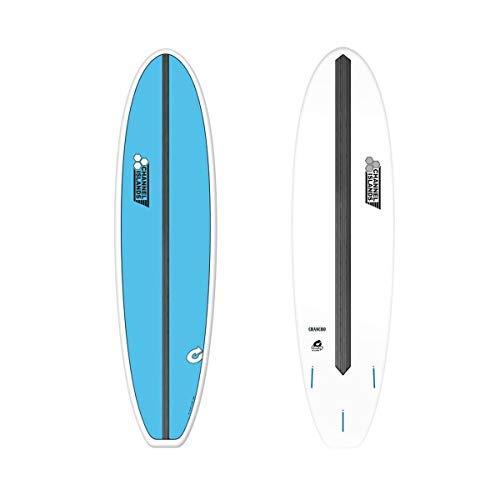Channel Islands Tabla de Surf X-Lite Chancho 7.6 Blue - Tabla de Surf Channel Islands X-Lite Chancho - La parte inferior tiene una tira de carbono resistente a la torsión que controla la flexión y hace que la tabla sea increíblemente sensible. - 7.6X...
