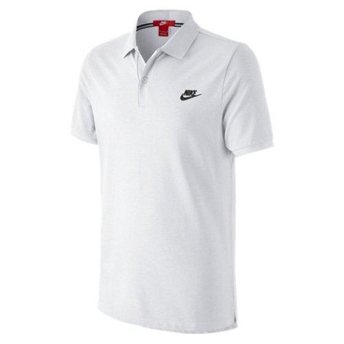 Nike Grand Chelem - Polo da uomo, Uomo, Grand Chelem Slim, bianco, XL