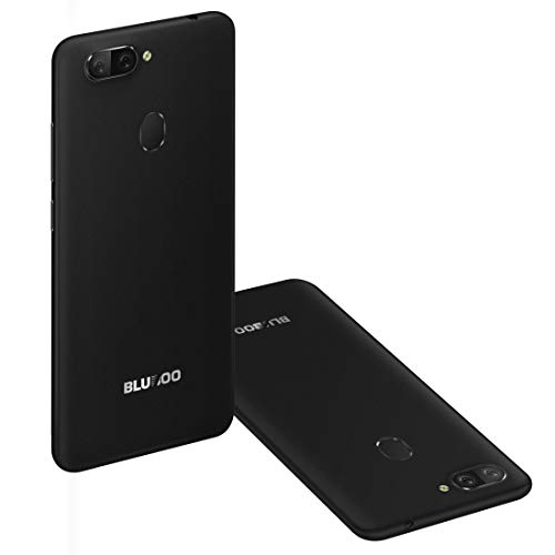 BLUBOO D6 Pro Unlocked Smartphone, 5.5 inch 2.5D Curved Display, Touch & Face ID 2GB+16GB Android 8.1 MTK6739V Quad Core up to 1.5GHz 4G LTE Dual Sim Mobile (Black) Img 2 Zoom