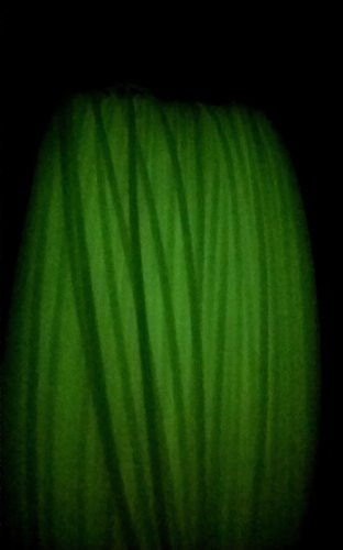 Filament imprimante 3D ABS 1.75 mm VERT Fluo lumineux – 100 m-Leapfrog, Makerbot, UP