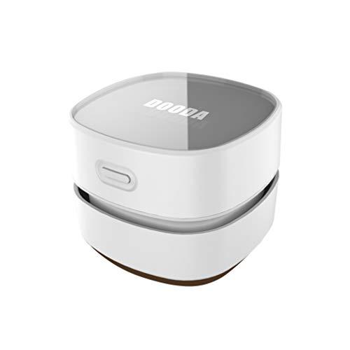 Vosarea Aspiradora de escritorio Batería Barredora de migas de mesa Mini Barredora de polvo portátil...