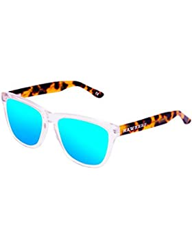Hawkers Air Carey Clear Blue One X,Gafas de Sol Unisex, Marrón/Azul