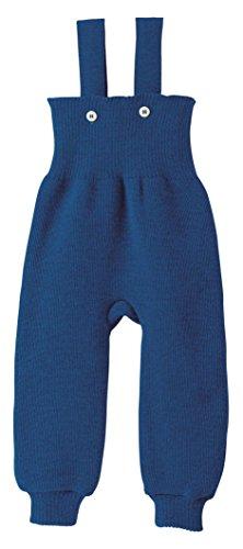 Disana 33104XX - Strick-Trägerhose Wolle marine, Size / Größe:74/80 (6-12 Monate)