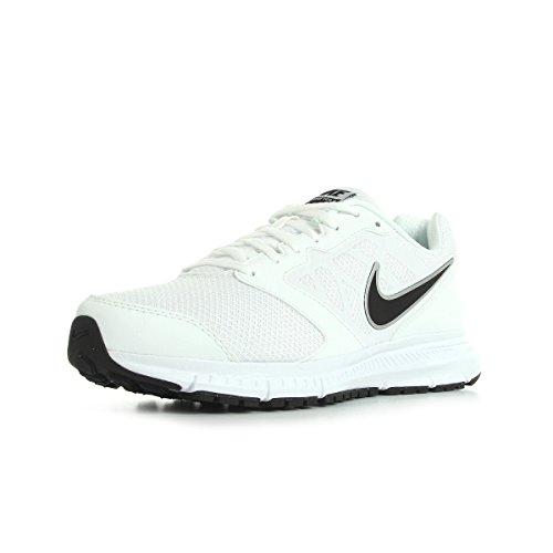 Nike Downshifter 6, Scarpe da corsa Uomo, Bianco (White/Black-Metallic Silver), 44.5 EU