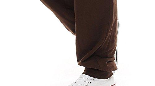 Gennadi Hoppe Herren Sporthose im Trachtenlook (4XL, braun) - 5