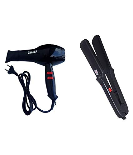 IAS Combo of 1500W Hair Dryer and Hair Straightener Pressing...