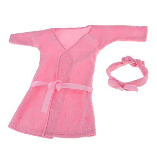 MagiDeal 1/3 BJD Doll Nachthemd Für Night Lolita MSD DOD Bademantel Nachthemd Kostüm - # 2