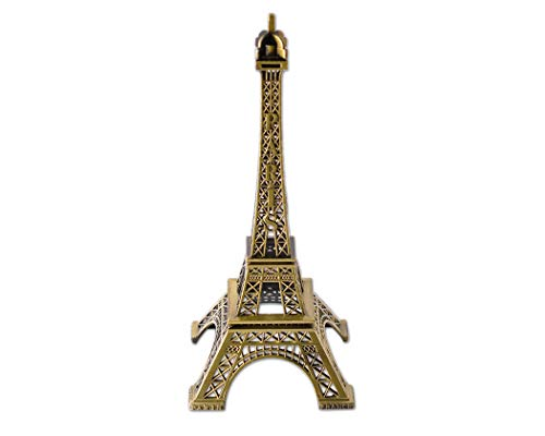 DSstyles Eiffelturm Modell Eiffelturm Metallische Statue Eiffelturm Figur für Souvenirs - 32cm