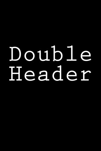 Double Header: Notebook, 150 lined pages, glossy softcover, 6 x 9 por Wild Pages Press